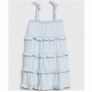 Baby Gap Denim Tiered Dress #57633